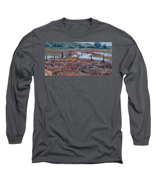 Elkhorn Slough Morning Long Sleeve T-Shirt