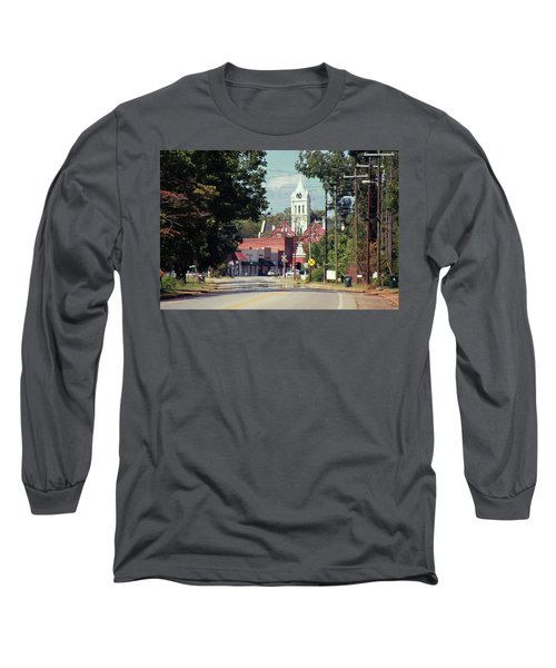 Long Sleeve T-Shirt featuring the photograph Ellaville, Ga - 2 by Jerry Battle
