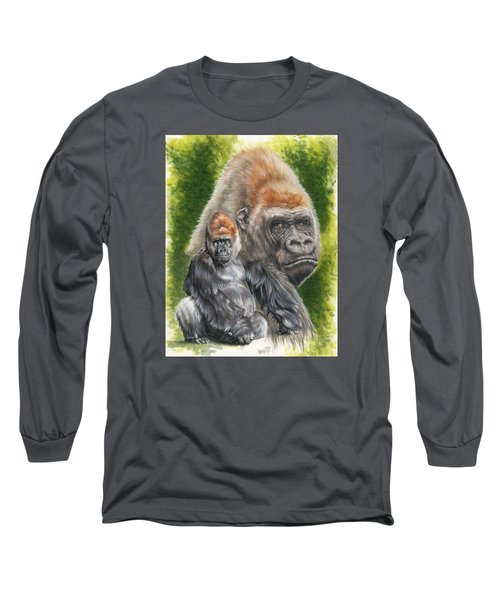Long Sleeve T-Shirt featuring the painting Eloquent by Barbara Keith