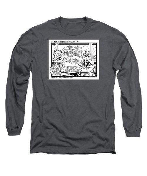 Elton Long Sleeve T-Shirt by Joe King