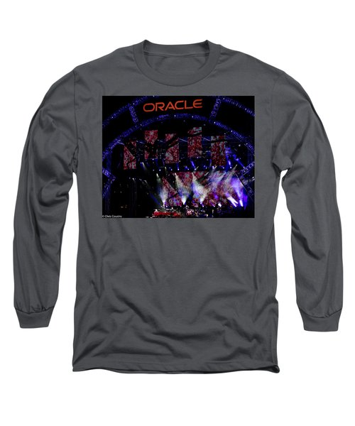 Long Sleeve T-Shirt featuring the photograph Elton John At Oracle Open World In 2015 by Chris Cousins