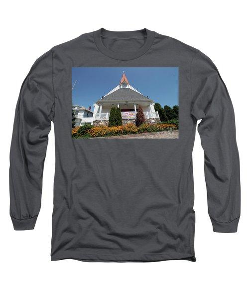 Emanuel Lutheran Church  Patchogue Ny Long Sleeve T-Shirt