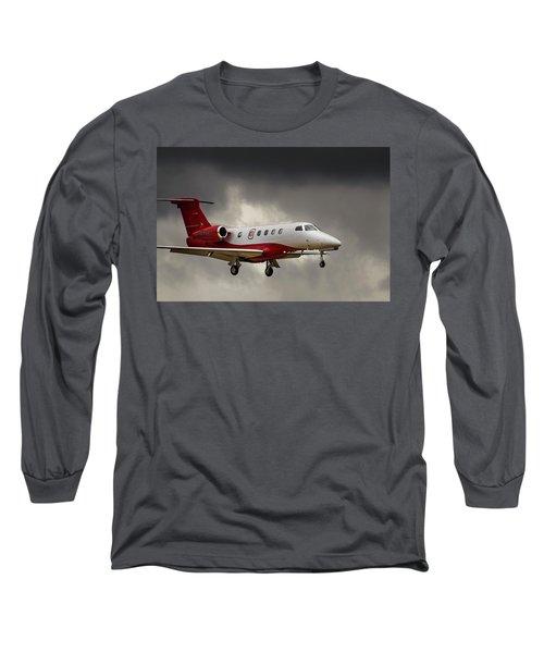 Emb-505  Landing Long Sleeve T-Shirt by James David Phenicie