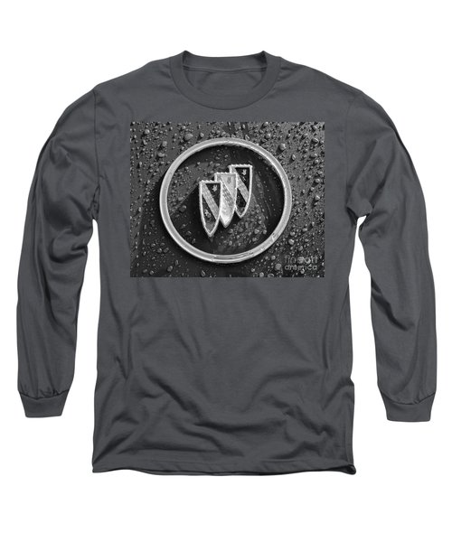 Long Sleeve T-Shirt featuring the photograph Emblem Mono by Dennis Hedberg