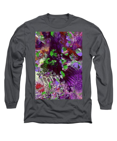 Emerald Butterflies Of Costa Rica Long Sleeve T-Shirt