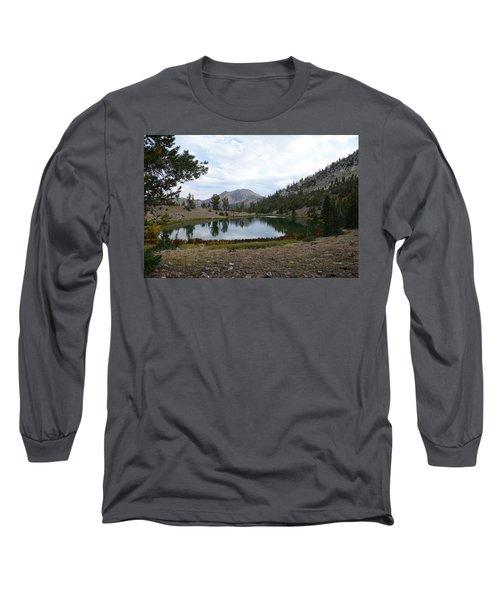 Long Sleeve T-Shirt featuring the photograph Jarbidge Wilderness Emerald Lake by Jenessa Rahn