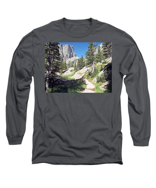 Long Sleeve T-Shirt featuring the photograph Emerald Lake Trail - Rocky Mountain National Park by Joseph Hendrix