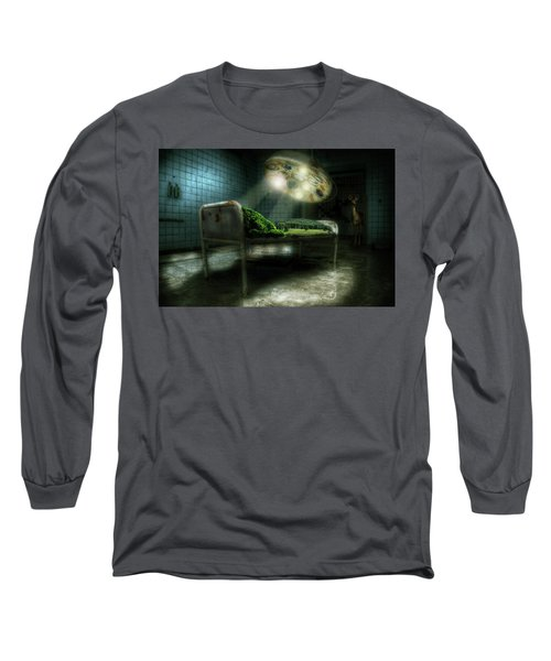 Emergency Nature  Long Sleeve T-Shirt by Nathan Wright