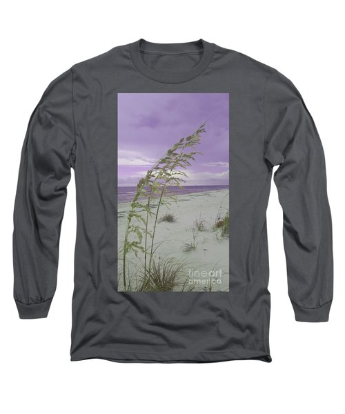 Emma Kate's Purple Beach Long Sleeve T-Shirt