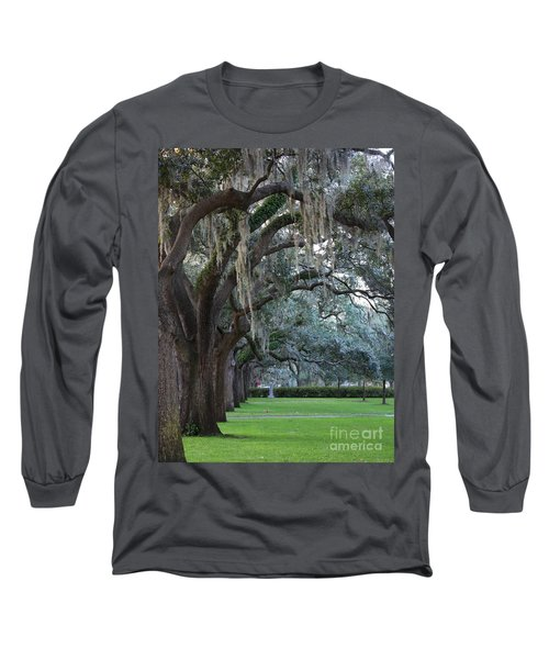 Emmet Park In Savannah Long Sleeve T-Shirt