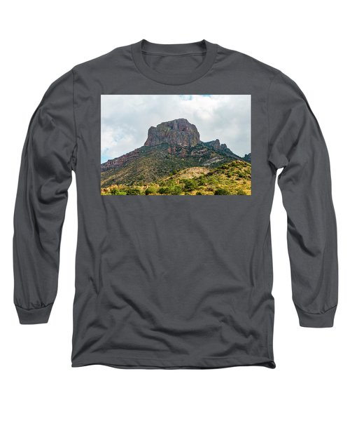 Emory Peak Chisos Mountains Long Sleeve T-Shirt