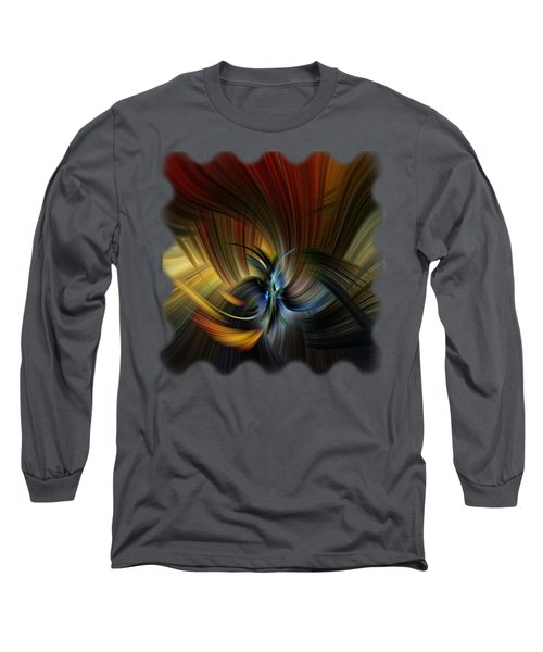 Emotional Release Long Sleeve T-Shirt by Mark Myhaver