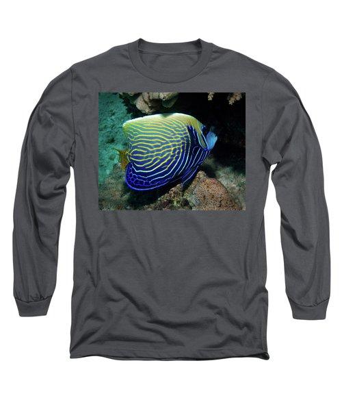 Emperor Angelfish, Red Sea 1 Long Sleeve T-Shirt