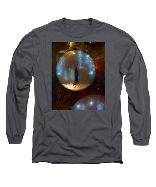 Empire State Christmas Long Sleeve T-Shirt
