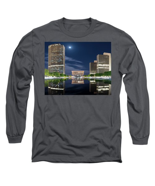 Empire State Plaza Long Sleeve T-Shirt