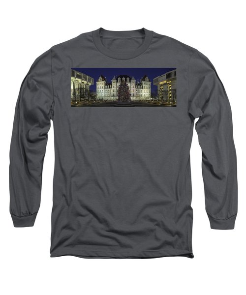 Empire State Plaza Holiday Long Sleeve T-Shirt