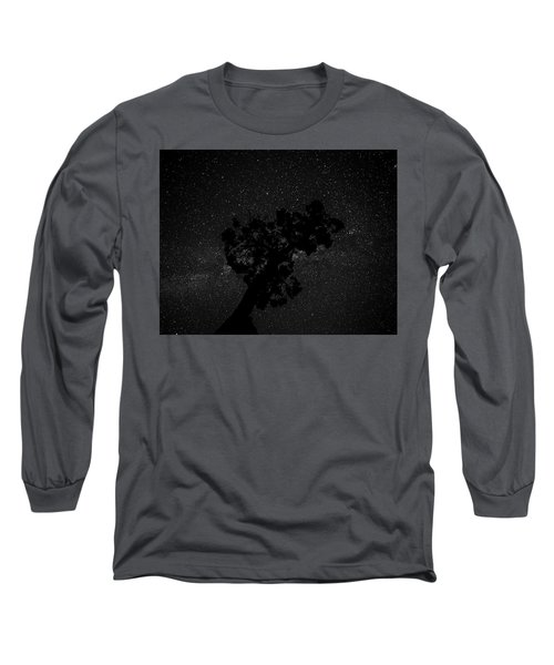Empty Night Tree Long Sleeve T-Shirt