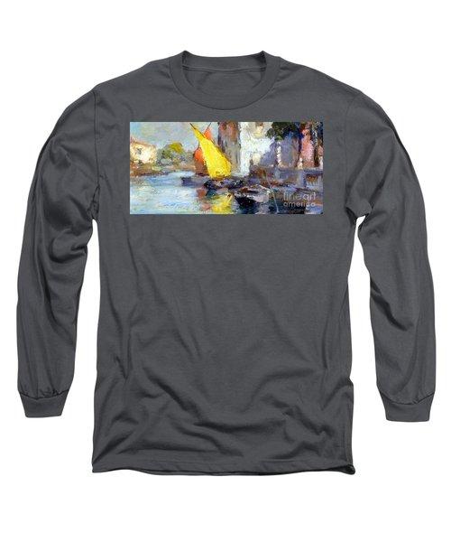 En Plein Air In Venice Long Sleeve T-Shirt