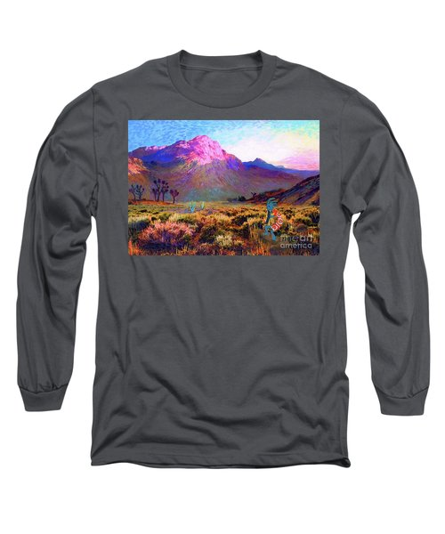 Enchanted Kokopelli Dawn Long Sleeve T-Shirt