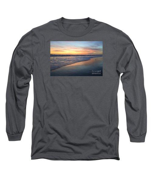 Encinitas Blue  Long Sleeve T-Shirt