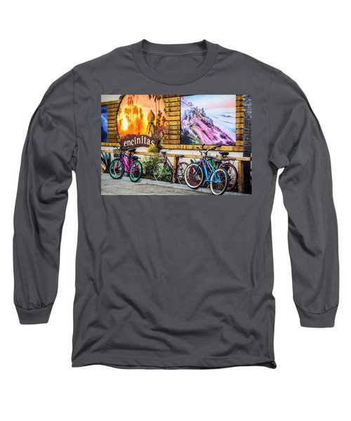 Bicycle Parking Long Sleeve T-Shirt