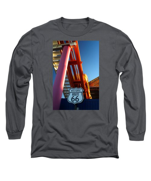 End Of Route 66 2 Long Sleeve T-Shirt