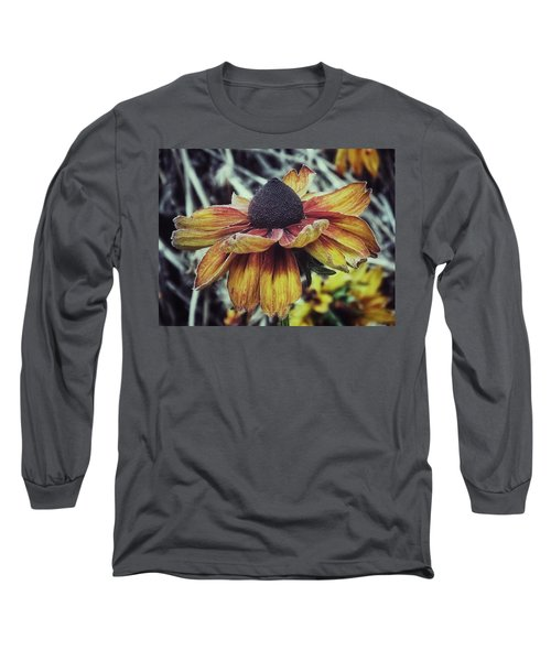Long Sleeve T-Shirt featuring the photograph End Of The Season  by Karen Stahlros