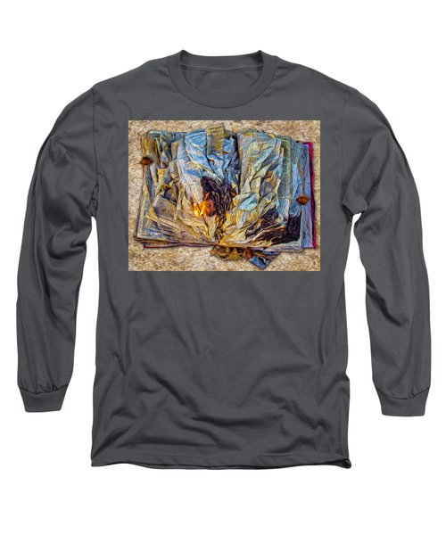Enders Book Cluetorial Long Sleeve T-Shirt