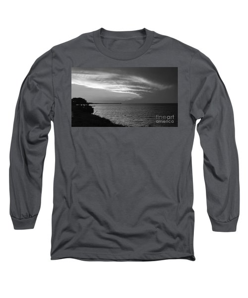 Ending The Day On Mobile Bay Long Sleeve T-Shirt