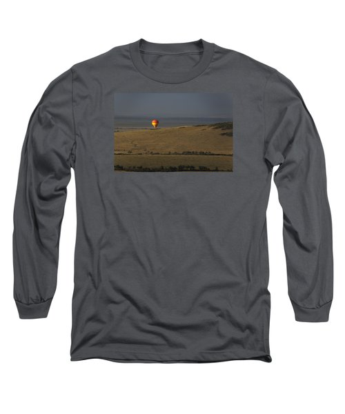 Long Sleeve T-Shirt featuring the photograph Endless Plains  by Ramabhadran Thirupa ttur