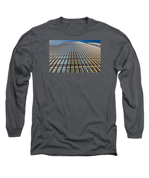 Long Sleeve T-Shirt featuring the photograph Endless Windows by Sabine Edrissi