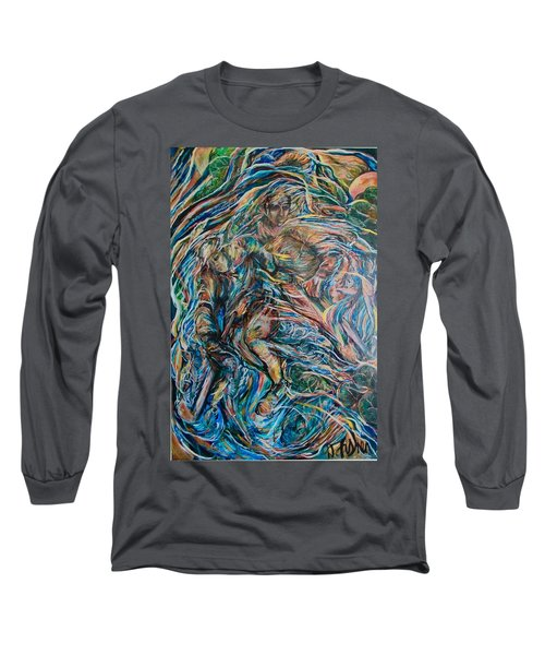Energy Long Sleeve T-Shirt by Dawn Fisher
