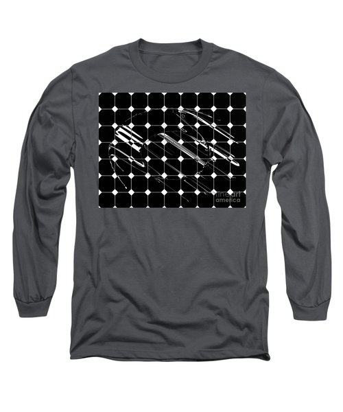 Energy Grid Long Sleeve T-Shirt