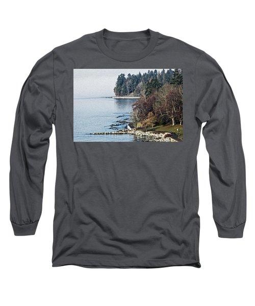English Bay Shore Long Sleeve T-Shirt