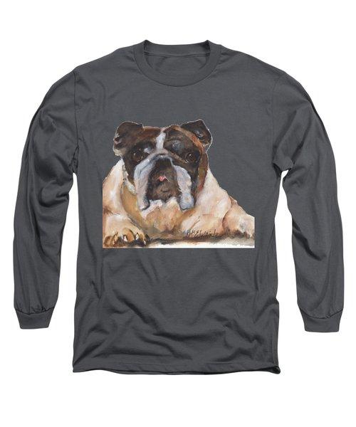 English Bulldog By Kmcelwaine Long Sleeve T-Shirt