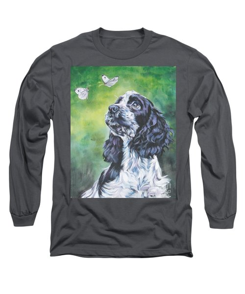 English Cocker Spaniel  Long Sleeve T-Shirt by Lee Ann Shepard