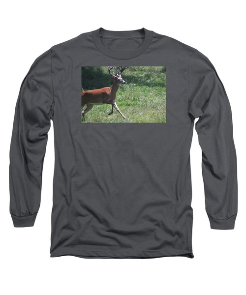 Enjoying A Bright Day Long Sleeve T-Shirt by Vadim Levin