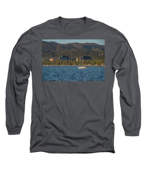 Enjoying The Lake Long Sleeve T-Shirt