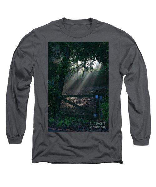 Long Sleeve T-Shirt featuring the photograph Enlighten by Lori Mellen-Pagliaro