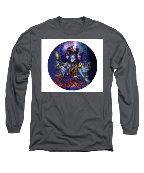 Enlightened Shiva Long Sleeve T-Shirt