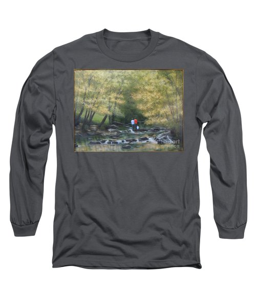 Eno River Afternoon Long Sleeve T-Shirt