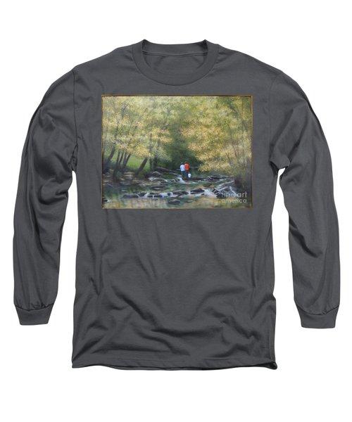 Eno River Afternoon Long Sleeve T-Shirt