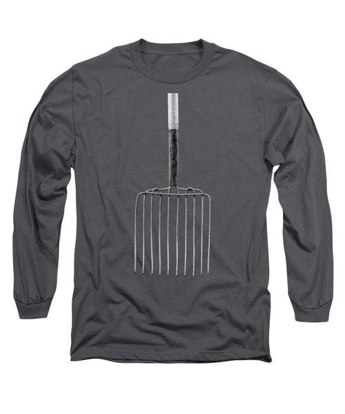 Ensilage Fork I Long Sleeve T-Shirt