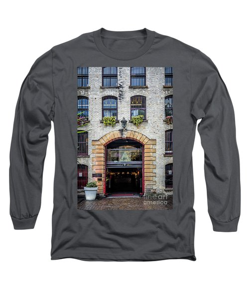 Long Sleeve T-Shirt featuring the photograph Enter by Perry Webster