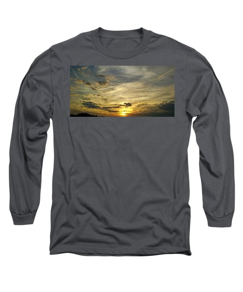 Long Sleeve T-Shirt featuring the photograph Enter The Evening by Robert Knight
