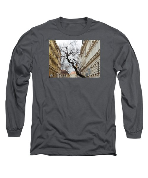 Enveloped Long Sleeve T-Shirt