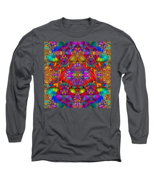 Long Sleeve T-Shirt featuring the digital art Environmental Protection-  by Robert Orinski