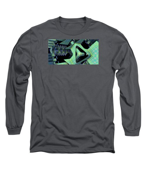 Long Sleeve T-Shirt featuring the digital art Epic by Lyle Hatch