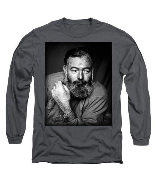 Ernest Hemingway 1944 Long Sleeve T-Shirt