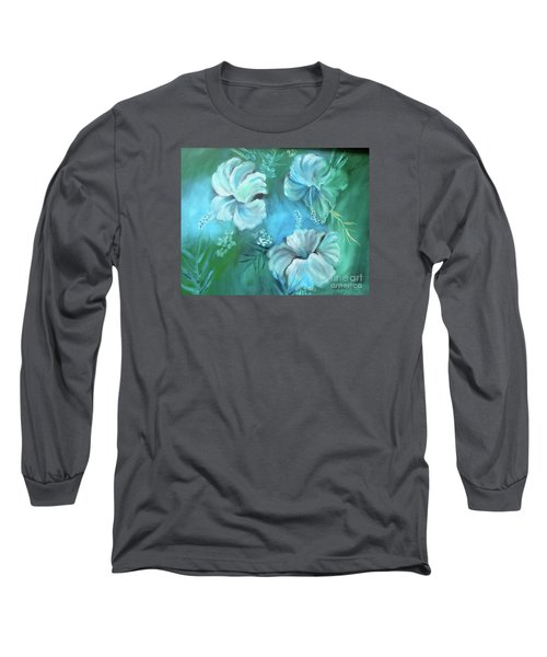 Escape To Serenity Long Sleeve T-Shirt by Jenny Lee